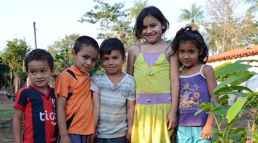 cena bambini paraguay